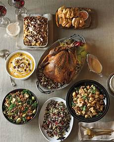 complete holiday turkey dinner for 8 neiman