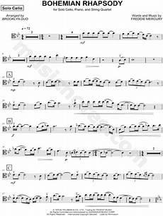 brooklyn duo feat dover quartet quot bohemian rhapsody string quartet parts quot sheet music in bb