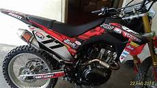 Modifikasi Honda Crf 150 by Modifikasi Crf 150 Sticker Decal