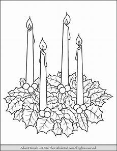 Malvorlagen Advent Advent Candles Coloring Page Free Printable Coloring