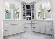 Bathroom Storage Cabinets Masters by This Remodeled Bathroom Features Custom Cabinetry With A