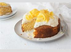 coconut syrup cake_image