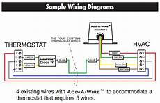 thermostat is it possible to use add a wire with my current configuration to add a c wire