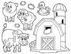 Ausmalbilder Bauernhof Mit Tieren Ausmalbilder Bauernhof Ausmalbilder