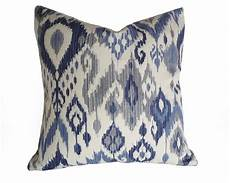 Navy And Grey Throw Pillows by Blue Ikat Pillows Ikat Pillow Covers Blue White Pillows