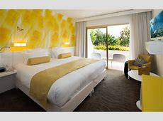 Luxury rooms of La Vague de Saint Paul