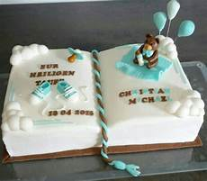 tauftorte fondant junge sweet looking cakes in 2019
