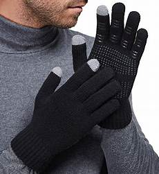 weather and us worksheets 14699 gellwhu touch screen winter outdoor warm knit mitten gloves 4 pack for tabolino