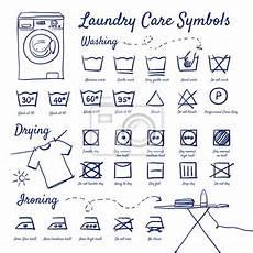 wäsche waschen symbole gekritzel set w 228 schepflege symbole waschen trocknen
