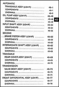 auto manual repair 2004 toyota matrix transmission control toyota matrix 4wd awd automatic transmission repair manual 2003 2004 2005 2006 ebay