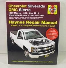 sierra 1500 haynes manuals repair manual haynes 24068 chevrolet silverado gmc sierra 1500 2500 3500 models ebay