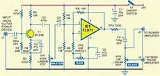electric guitar circuit diagram electric guitar prelifier circuits projects
