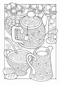Malvorlagen Jackson Edition Tea A Colouring Book Of Pictures And Patterns Pictures