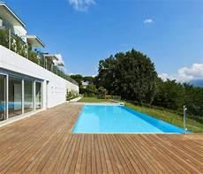 Deck Bois Pour Piscine Terrasse Escalier Et Abri De