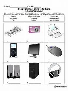parts of a computer worksheet for grades k 6 them an and 2