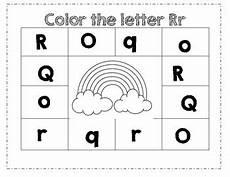 pre k letter r worksheets 24414 prek color worksheet letter r by ashleigh b madsen tpt