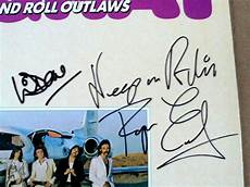 popsike com fully signed foghat quot rock roll outlaws quot lp