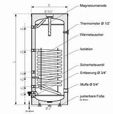 speicher für heizung und warmwasser 140 liter warmwasserspeicher brauchwasserspeicher mit 1