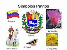 mapa mental de los simbolos naturales de venezuela presentacion venezuela