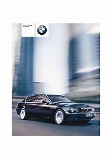 car repair manuals download 2002 bmw 745 on board diagnostic system 2004 bmw 7 series 745i 745li 760li e65 e66 e67 e68 owners manual