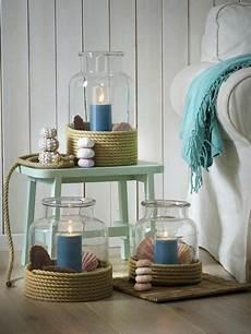 maritime deko bad meer flair maritimes windlicht selber machen windlichter selber machen badezimmer dekor und