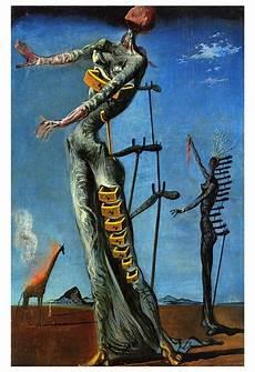 salvador dali the burning giraffe dailyartmagazine