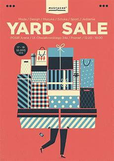 design garage garagen als a selection of yard sale posters 2015 on behance