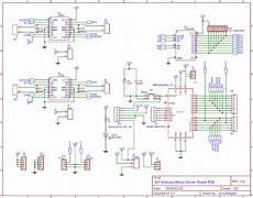 diy arduino motor driver shield pcb