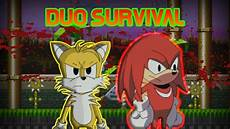 sonic exe the spirits of hell tails and knuckles duo survival youtube