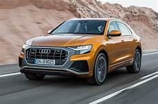 2019 audi q8 first facing challenges motortrend