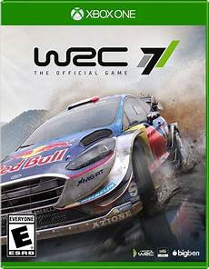 wrc 7 release date xbox one
