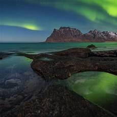 Norwegen Norwegen Polarlichter Und Orte