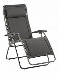 lafuma fauteuil relax pliable et r 233 glable rsx clip mat