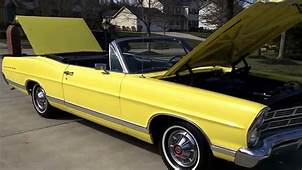 1967 Ford Galaxie 500 Convertible  YouTube