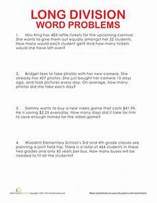 division word problems for instructors mostly abe