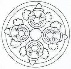 Ausmalbilder Fasching Mandala Mandalas Infantiles Para Imprimir Y Colorear