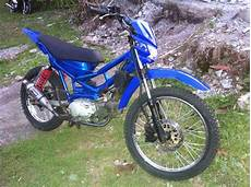 Modifikasi Motor Trail Bebek Supra by Modifikasi Motor Supra X 125 Menjadi Trail Modifikasi