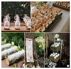decoration mariage rustique vive le bois