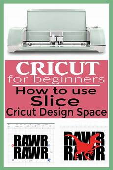 how to use the slice tool in cricut design space cricut