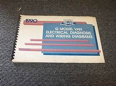manual repair autos 1994 chevrolet g series g10 navigation system 1990 chevy g10 g20 g30 g van sportvan factory electrical wiring diagram manual ebay