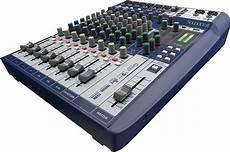 mixer console soundcraft signature 10 mixing console