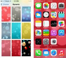 iphone dynamic wallpaper setting how to enable five additional dynamic wallpapers in ios 7