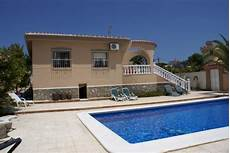 location valence espagne bord de mer villa independante large piscine privee a 10 minutes du