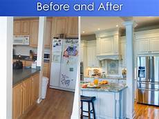 Kitchen Transformations Before And After kitchen transformation before and after haskell s