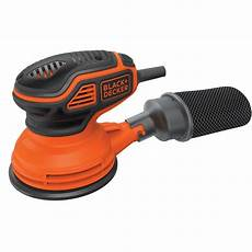 black decker 2 4 corded 5 in random orbital sander