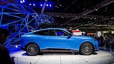 2019 La Auto Show Ford Mustang Mach E An Electric