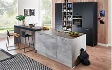 küche beton optik einbauk 252 cke nolte in beton optik neff