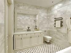 Bathroom Ideas Marble Tile by Carrara Marble Tile White Bathroom Design Ideas Modern