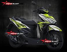 Striping Vario 125 Modif by Mega Gallery Honda Vario 150 Esp