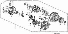 honda fit alternator wiring diagram 31100 paa a01 genuine honda alternator assy cju 99 denso